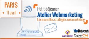 Conférence Webmarketing et E-Commerce le 11 avril 2013 à Paris