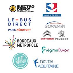 Electro Dépôt, la Mairie de Paris, Le Bus Direct… signent avec Dolist